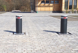 Automatik Poller 275/800, Stahl, hydaulisch versenkbar