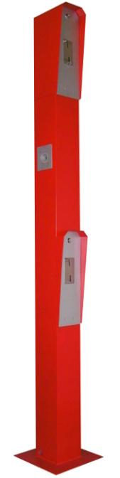PKW-LKW Bediensäule, rot