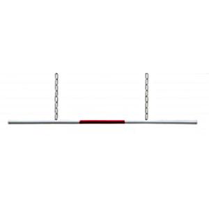 Barriere aus Alu Rohr für Höhenbegrenzer